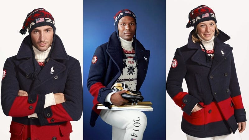 Illustration for article titled This Year Ralph Lauren's USA Olympic Apparel Actually Made in the USA