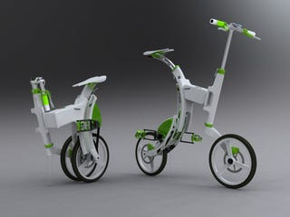 Illustration for article titled Concept Electric Bike Charges Via A Method You Probably Would Never Guess In a Million Years