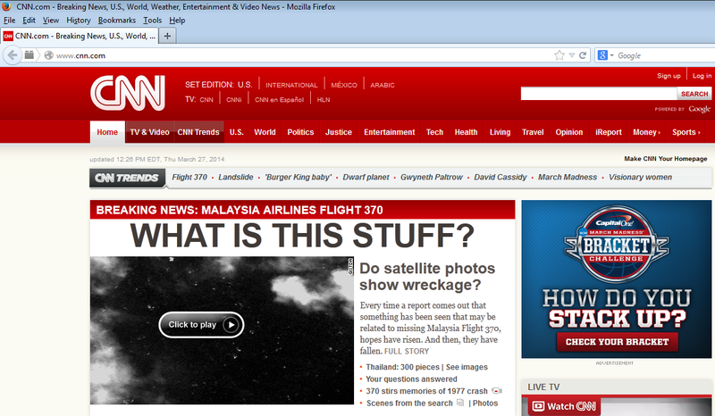 Illustration for article titled Breaking News from CNN