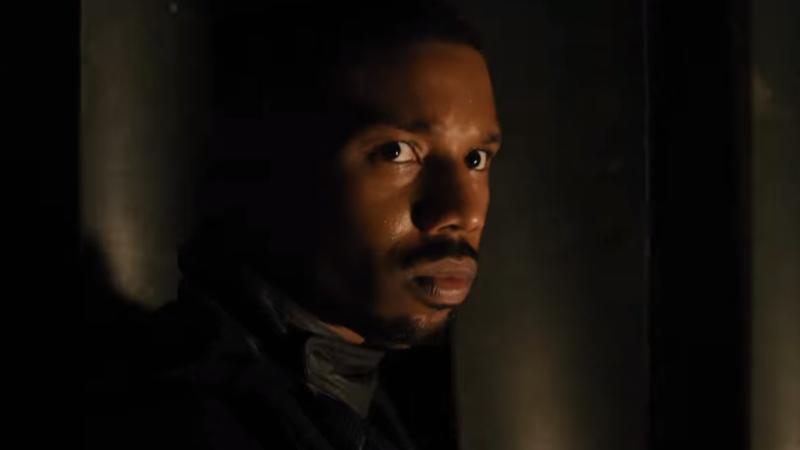 Michael B. Jordan as Guy Montag in HBO's Fahrenheit 451.