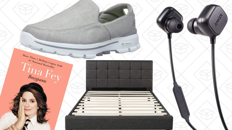 Illustration for article titled Sunday's Best Deals: Anker Gear, Kindle Books, Skechers Shoes, and More