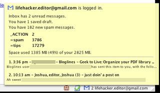 Illustration for article titled Download of the Day:  Gmail Manager (Firefox)