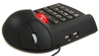 Illustration for article titled The Track Ball Mouse Numerical Keypad Hub Does Not Think Less Is More