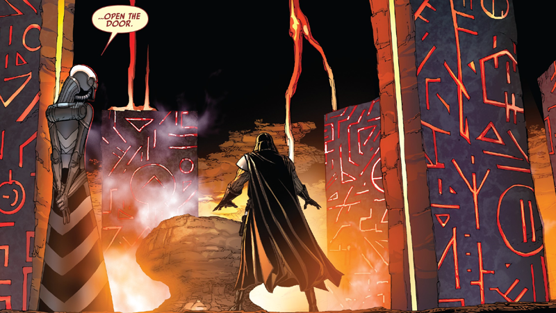 """Vader finds a mysterious new """"ally"""" to plunge into the darkest depths of the Force."""
