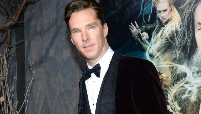 Illustration for article titled Oh God, Stop Telling Benedict Cumberbatch You Think His Mom Is 'Hot'