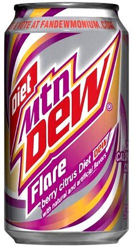 Is there a new Mountain Dew coming soon?