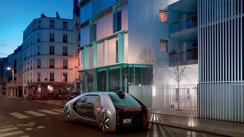 An autonomous car Renault wants to have in production by 2022.