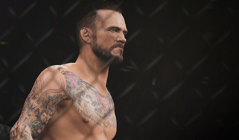 Illustration for article titled CM Punk Says Fans Angry Over His Rating In The Next UFC Game Are 'Butt-Hurt'