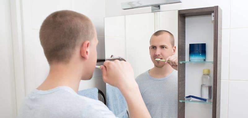 Illustration for article titled Este espejo del MIT analiza tu rostro y sabe cuándo estás enfermo