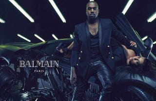 Illustration for article titled Here Are the Rest of the Kanye West/Kim Kardashian Balmain Ads