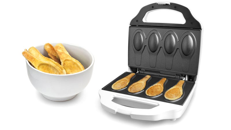 Say Goodbye To Washing Dishes With an Edible Spoon Maker