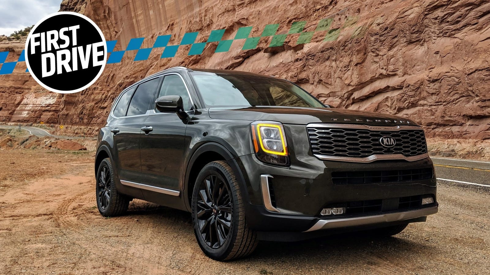 The 2020 Kia Telluride Is Really Big and Really Good
