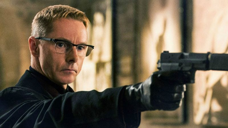 Sean Harris in Mission: Impossible—Rogue Nation