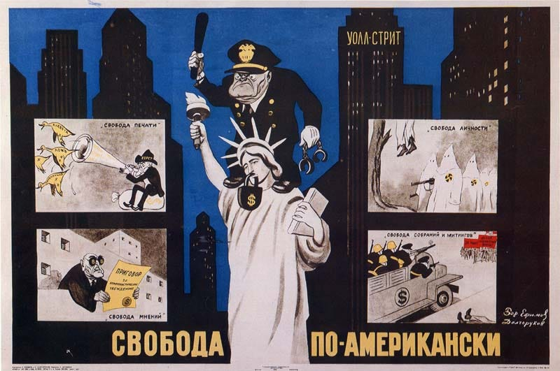 Illustration for article titled The Greatest Soviet Propaganda Posters Ever