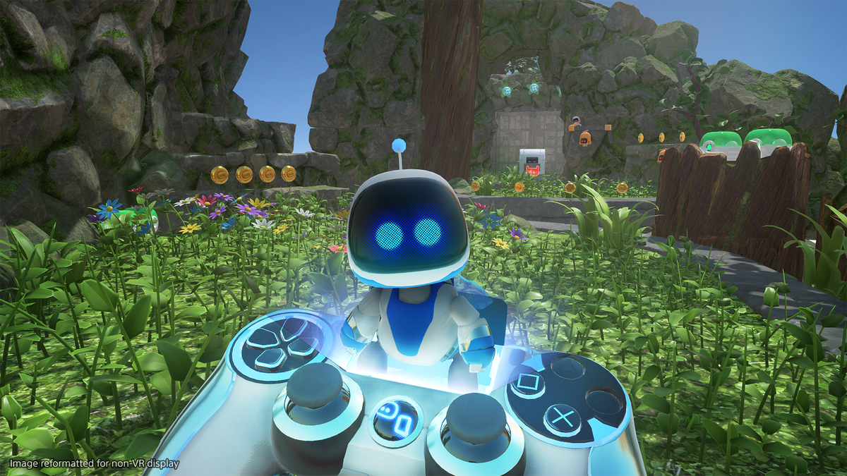 Psvr Platformer Astro Bot Is More Fun If You Dont Try To 100 It Stock Image Of 39computer Circuit Board With Multiple Processors Making