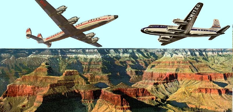 Illustration for article titled A 1956 Plane Crash in the Grand Canyon Made Flying Safer for Americans