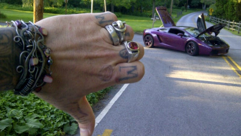 Friend Pumps 45k Worth Of Diesel Into Bam Margera S Lambo