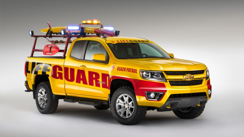 Illustration for article titled 2015 Chevrolet Colorado Show Truck Images Released
