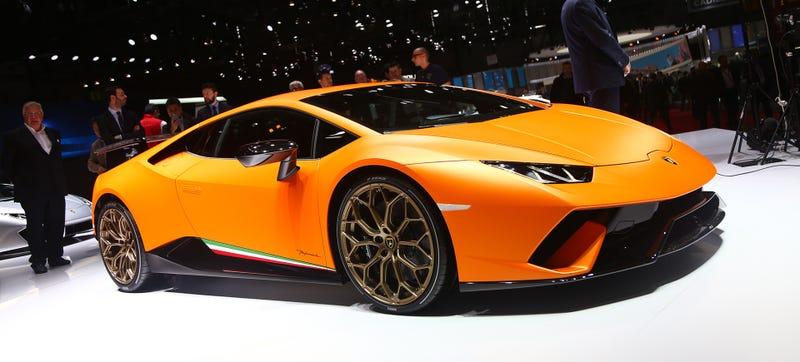 The Lamborghini Huracán Performante in question. Photo Credit: Freddy Hernandez/Jalopnik