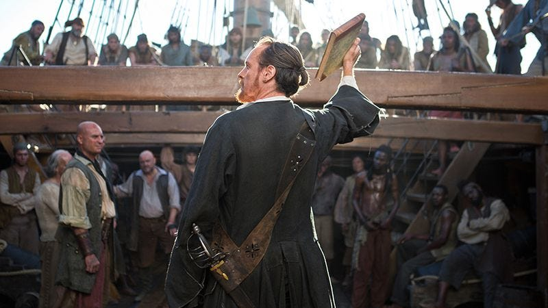 Illustration for article titled Viewer beware: Black Sails wants to pillage your Saturdays