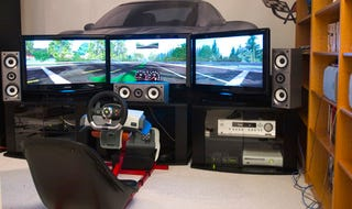 Illustration for article titled The Ultimate Xbox 360 Racing Setup