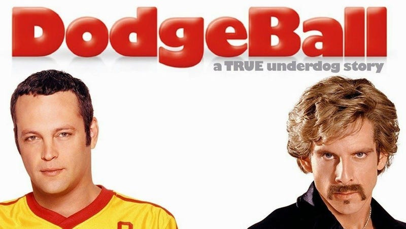 Illustration for article titled Sure, Whatever: Ben Stiller Just Announced He's Changing The Tagline Of'DodgeBall'From'Grab Life By The Ball'To'How A Couple Of Average Joes Saved The Day'