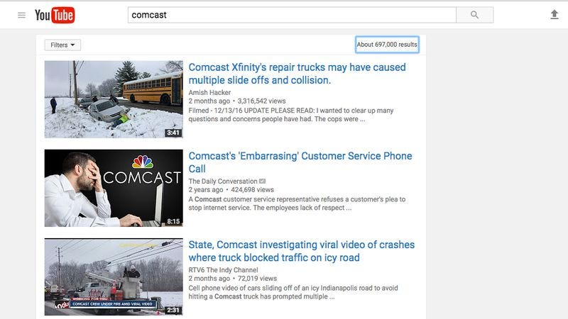 Comcast Is Basically Making Youtube Into A Tv Channel