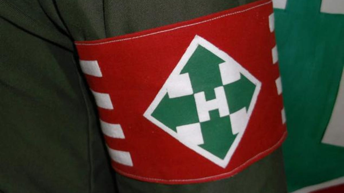 Image result for Hungarian Arrow Cross Party armband