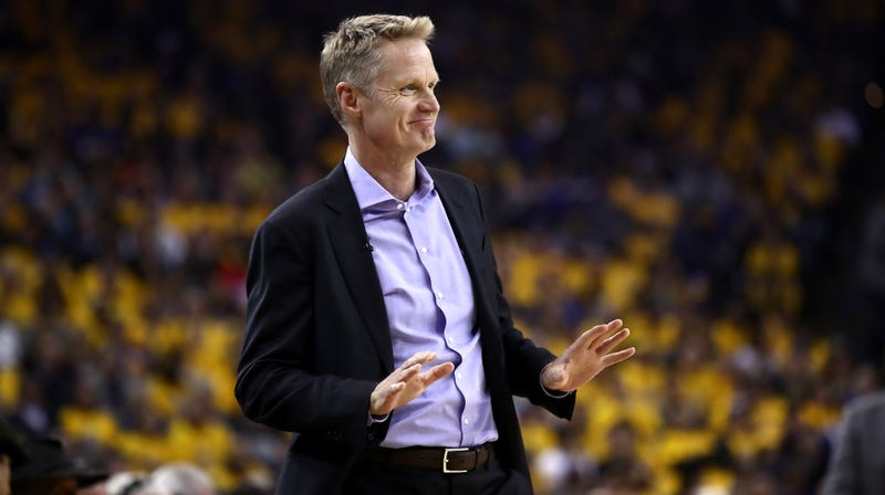 "Steve Kerr Thinks Russell Westbrook's Media Grudge Is ""Dangerous"" For The NBA"