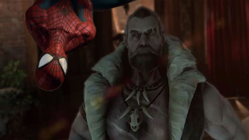 Illustration for article titled Kraven Stalks The First Trailer For The Amazing Spider-Man 2 Game