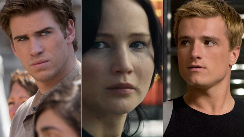 Illustration for article titled What If Katniss Didn't Have to Choose Between Peeta and Gale?