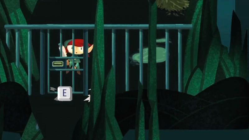 Illustration for article titled Double Fine releases trailer for their Zelda-meets-hacking game