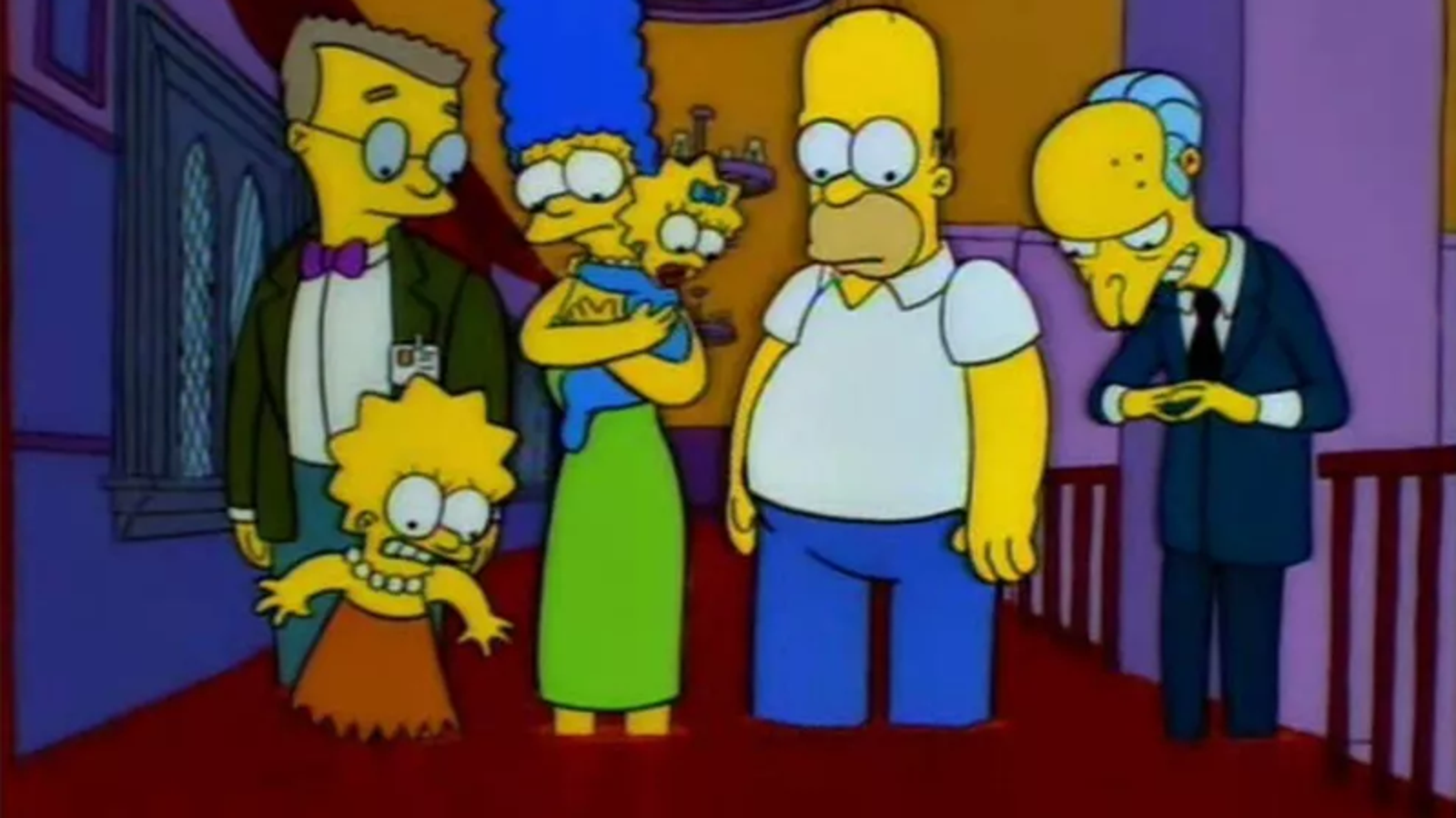 the u.s. congress helped make one simpsons halloween special as