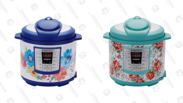 Florals? For Spring? On a $70 Instant Pot? Groundbreaking.