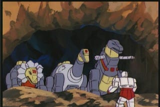 Illustration for article titled The Dinobots are going to star in Transformers 4 (probably)