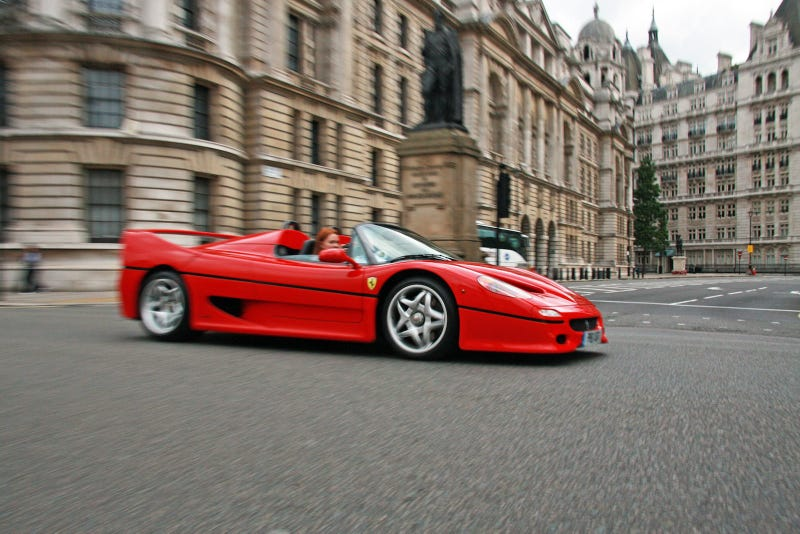 Illustration for article titled What The Hell Is Wrong With The Ferrari F50?