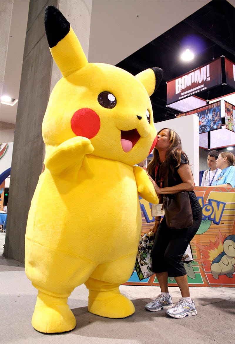 Illustration for article titled How To Meet Girls At Comic-Con, The Pikachu Way