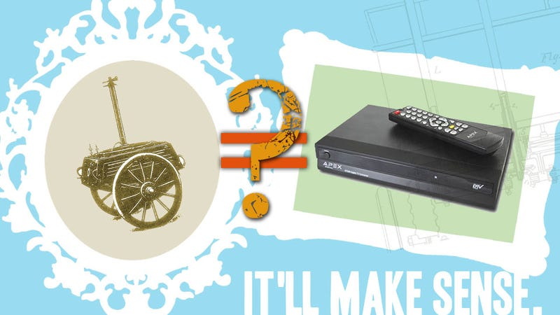 Illustration for article titled How A Mechanical Horse Is Like An HDTV Converter Box
