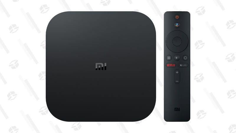 Xiaomi Mi Box S 4K Android TV with $10 VUDU Credit | $50 | Walmart