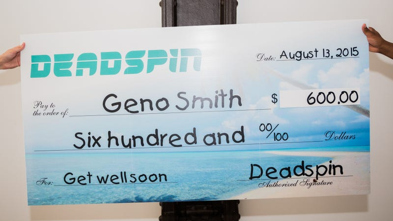Illustration for article titled We Want To Help Geno Smith Settle His Debt, So Here's $600