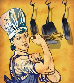 Illustration for article titled The Fame Game: Why Do Women Chefs Get Shafted?