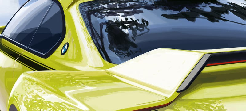 Illustration for article titled BMW Will Unveil A Modern Homage To One Of Its Sexiest Cars Ever