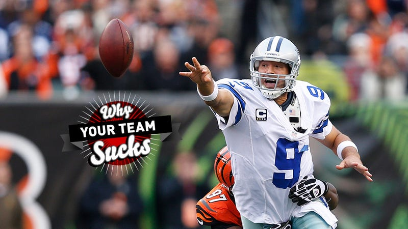 Illustration for article titled Why Your Team Sucks 2013: Dallas Cowboys