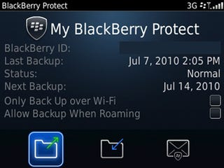 Illustration for article titled BlackBerry Protect Lets You Wirelessly Backup, Restore And Locate Your Lost Blackberry For Free