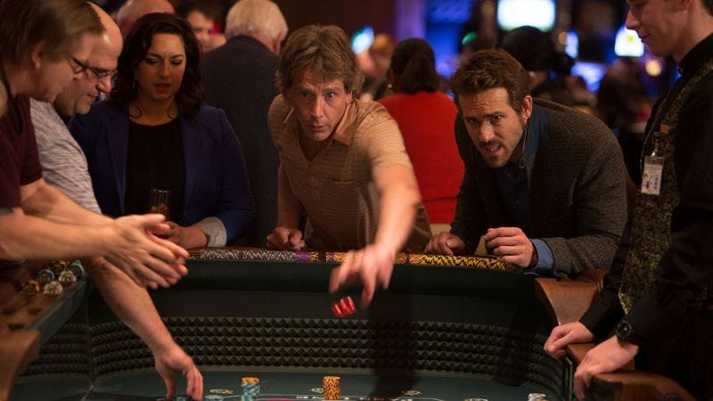 Illustration for article titled Before it goes bust, Mississippi Grind is a very enjoyable buddy gambling flick