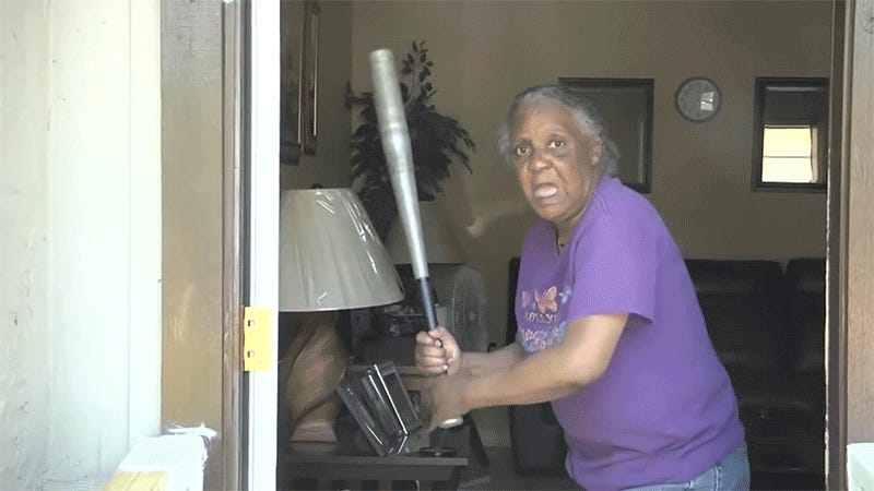 Florida Grandma Uses Her Softball Skills To Bash Half-Naked Burglar's Head With Bat