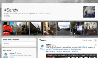 Illustration for article titled There Are 20 Million Tweets About the Hurricane (And Counting)