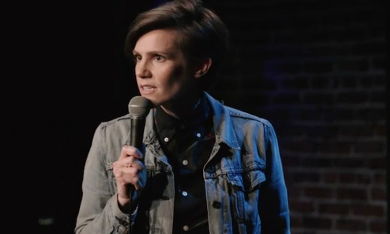 Cameron Esposito stars in the stand-up special Rape Jokes