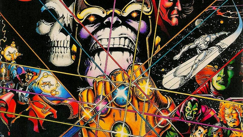 Illustration for article titled How Will The Infinity Gauntlet Be Adapted for Marvel Movies?
