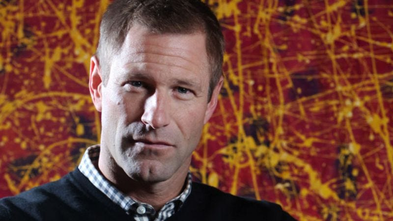 Illustration for article titled Aaron Eckhart